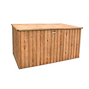 Duramax Large Cushion Deck Box and Bench1450 Litre