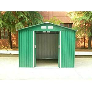 dirty pro tools 12x10 Metal Shed With floor base