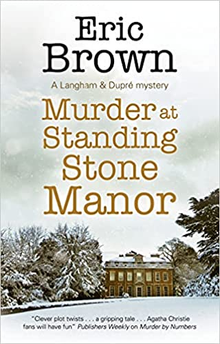Murder at Standing Stone Manor cover