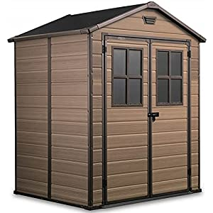 Keter Scala 6x5 Garden Shed Tool House