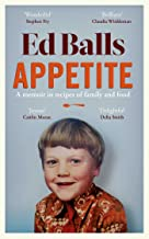 Appetite: A Memoir in Recipes of Family and Food