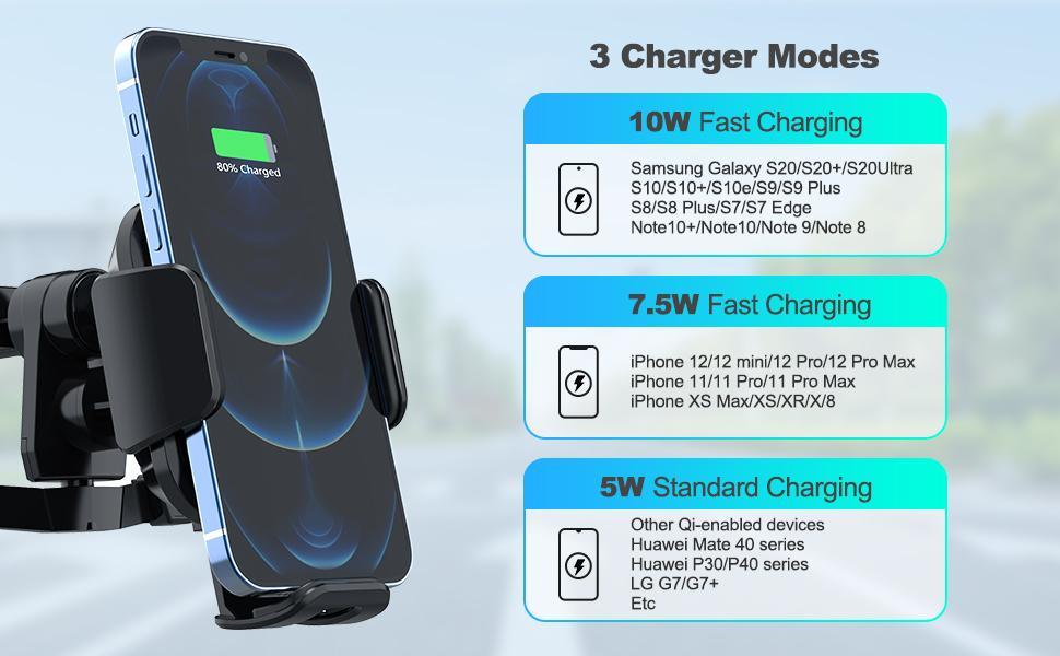 wireless car holder