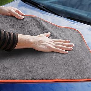 Microfibre cloths car cleaning cloth car care car cleaning cloths paint-gentle polishing cloth
